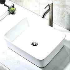 ceramic bathroom sinks pros and cons ceramic bathroom sink brilliant style oval shape porcelain ceramic