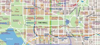 Metro In Dc Map by National Mall Map In Washington D C Wheretraveler