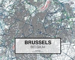 map brussels brussels dwg mapacad
