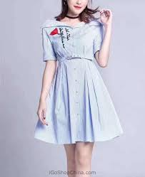 buy cheap womens fit u0026 flare summer dresses online from china shop