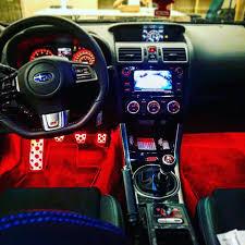 subaru wrx custom interior autobright lighting autobrightlighting instagram photos and videos