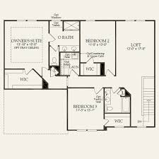 viking homes floor plans rhodes at chapel cove in charlotte north carolina pulte