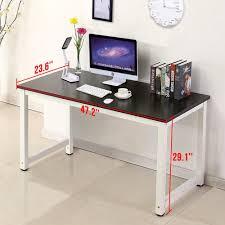 amazon office more puter desk wood pc laptop table part 8