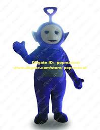 Teletubbie Halloween Costume Endearing Purple Tinky Winky Teletubbies Mascot Costume Cartoon