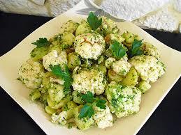 cuisine chou salade de chou fleur la recette facile par toqués 2 cuisine