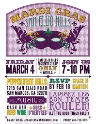 mardi gra for sale san elijo mardi gras masquerade san elijo