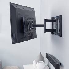 How To Make A Tv Wall Mount Amazon Com Amazonbasics Heavy Duty Full Motion Articulating Tv