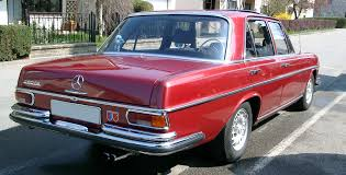 mercedes benz 280se w108 rear w108 pinterest mercedes benz