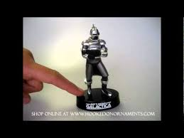 2011 cylon centurion battlestar galactica hallmark ornament