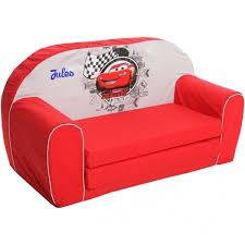 canape lit pour enfant canapé convertible pour enfant personnalisé cars
