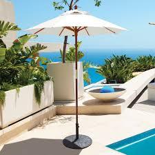6 Foot Patio Umbrellas Treasure Garden 6 Ft Sunbrella Aluminum Push Button Tilt Patio