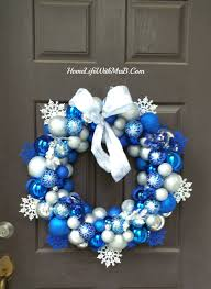 blue christmas tree decorations and this stunning at decorating