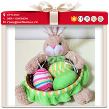 filled easter baskets wholesale plush easter basket plush easter basket suppliers and