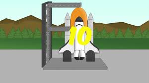 counting to 10 forwards and backwards rocket theme song for