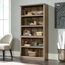 Sauder Edge Water Desk With Hutch by Edge Water Estate Black In 5 Shelf Bookcase Bookcase Sauder White