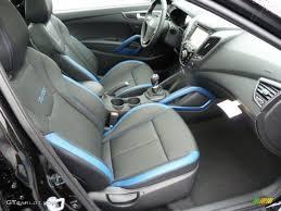Veloster Hyundai Interior Blue Interior 2013 Hyundai Veloster Turbo Photo 72909808