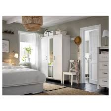 Wardrobes For Bedrooms by Brusali Wardrobe With 3 Doors White 131x190 Cm Ikea