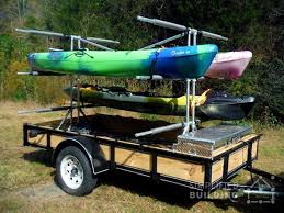 build your own kayak trailer no welding or cutting required