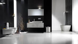 Black White Bathrooms Ideas Bathroom Black And White Bathroom Tile Design Ideas Black White