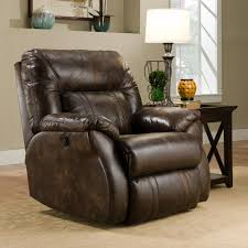 Southern Comfort Recliners Power Lay Flat Recliner With Casual Style By Southern Motion