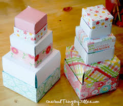 how to make a simple homemade gift box crafty stuff