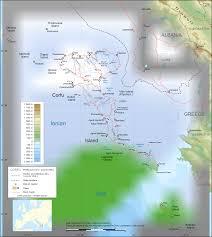 Meteora Greece Map by Corfu Map