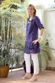 what i wore sisley blue dress over white zara pants