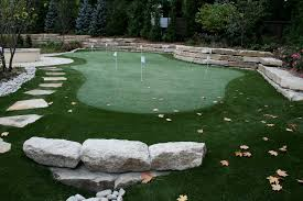 Putting Green Backyard by Backyard Putting Green Cost Crafts Home