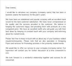 business to customer introduction letter sample mediafoxstudio com