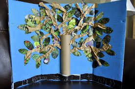 earth day inspired tree craft i heart crafty things