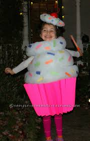 best homemade cupcake costume for a cupcake costume