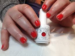 belle of the ball a gelish nail experience