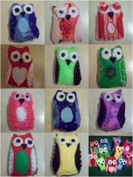 sewn felt owls favecrafts