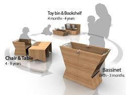 Bassinet To Crib Convertible Convertible Bassinet Desk By Yiahn Inhabitots