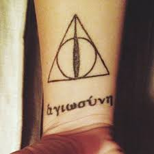 deathly hallows tattoo on wrist golfian com
