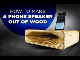 learn how to make a speaker out of wood easy diy project