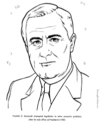 Franklin D Roosevelt Facts And Pictures Eleanor Roosevelt Coloring Pages
