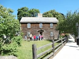 saltbox house john adams birthplace saltbox house picture of adams national