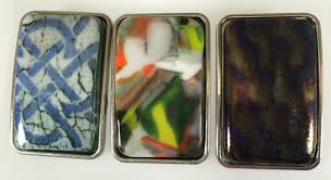 belt buckle allergy fused glass belt buckles fused glass by