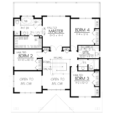 traditional style house plan 4 beds 3 00 baths 1800 sq ft best