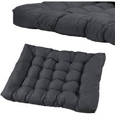rembourrage coussin canapé 1x coussin de siège pour canapé d palette gris fonc