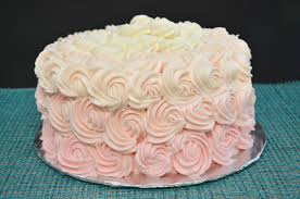 savory made simple how to decorate a pink ombre rosette cake