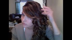 side swept curls for long u0026 short hair youtube
