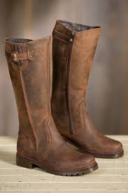 womens leather boots s overland debra wool lined leather boots overland