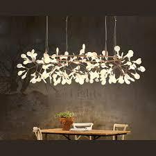 Twig Light Fixtures Twig Led Decorative Lights Glowworm Shaped 41 7 Inch Diameter