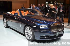 rolls royce front rolls royce dawn front quarter at the 2015 iaa indian autos blog