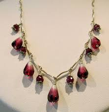 seed necklace images 5 seed necklace with rubies sara chatfield glass online store jpg