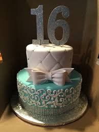 elegant sweet 16 invitations tiffany themed cake for a sweet 16 cake by anna cakes annacakes