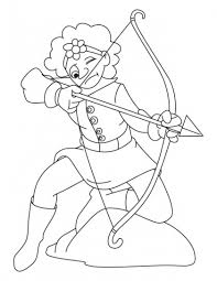 coloring pages download free 8 best archery coloring pages images on pinterest coloring pages