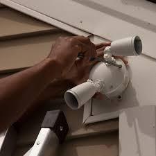 install motion lights